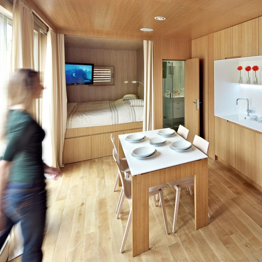 Дизайн интерьера крошечной квартиры