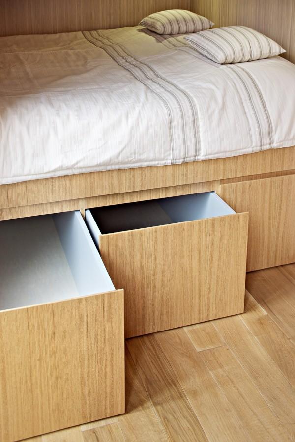 Системы хранения в дизайне крошечной квартиры