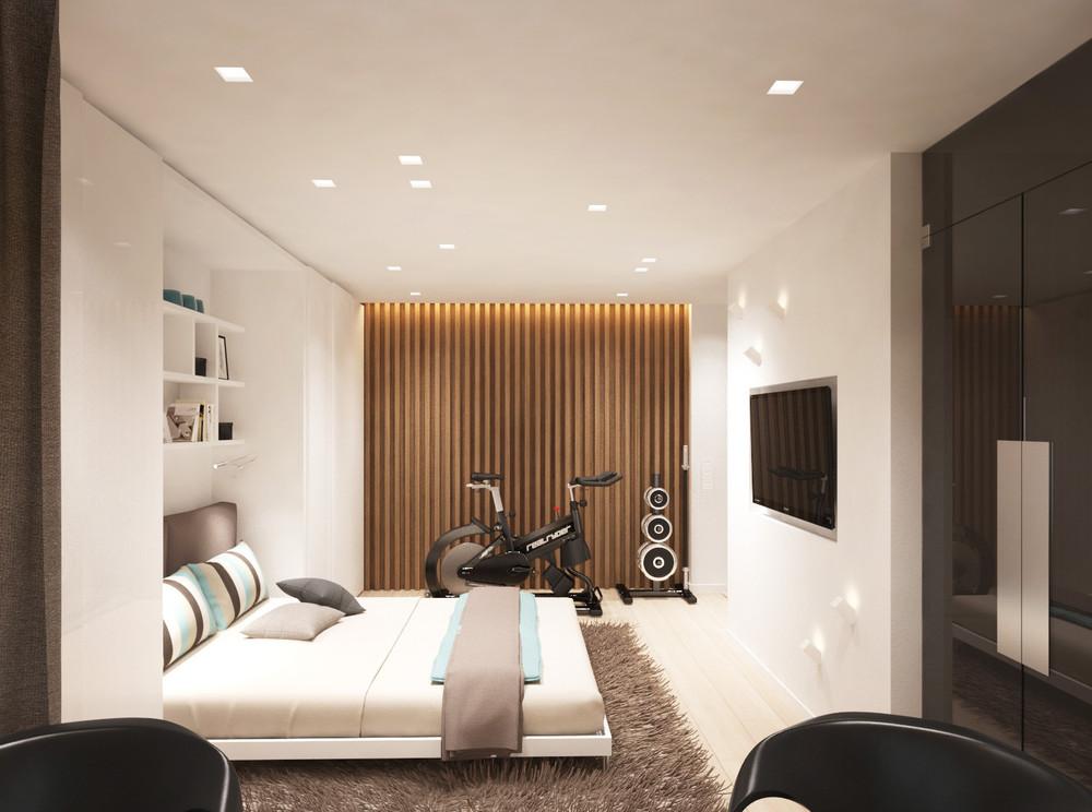 Дизайн квартиры 30 кв. м в пастельных тонах