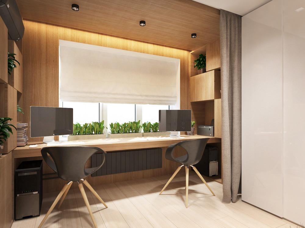 Дизайн квартиры 30 кв. м в пастельных тонах - фото 6