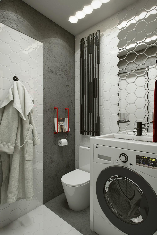 Накладная раковина на стиральной машине