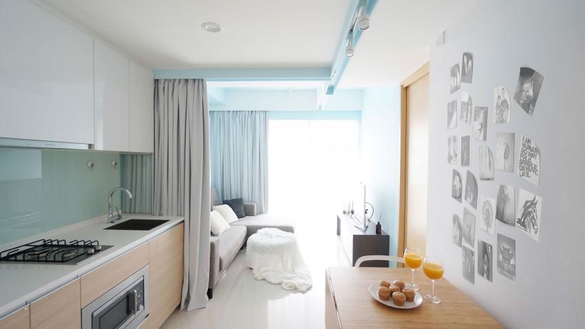 Апартаменты Curtain от HUE D