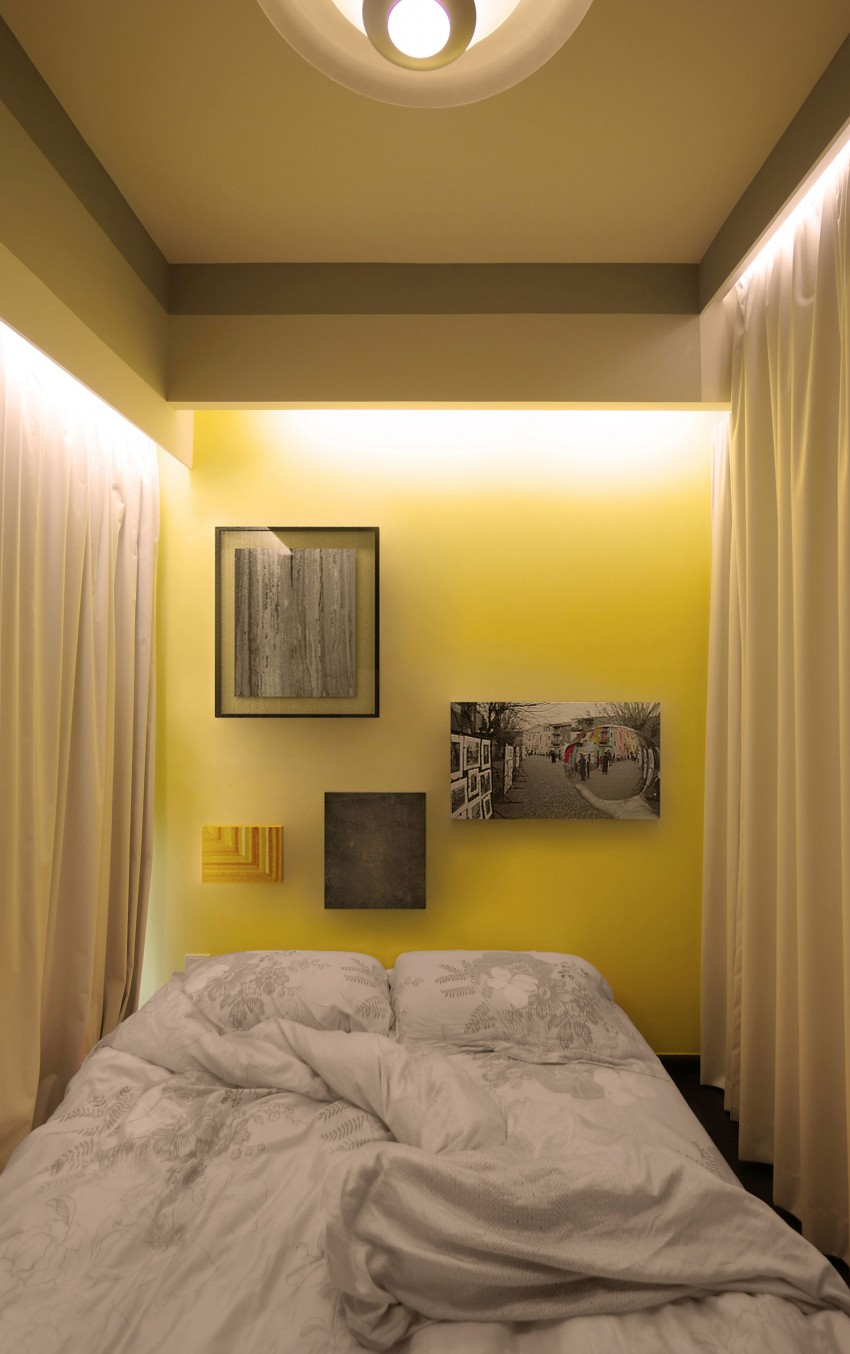 Потолочная подсветка в спальне