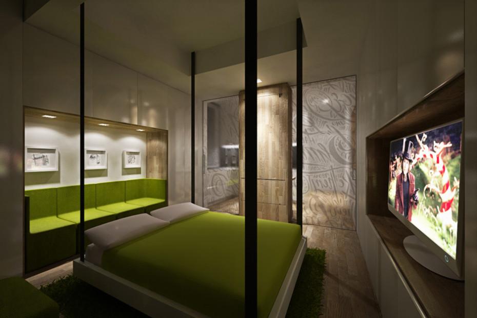 Дизайн квартиры трансформер: освещение