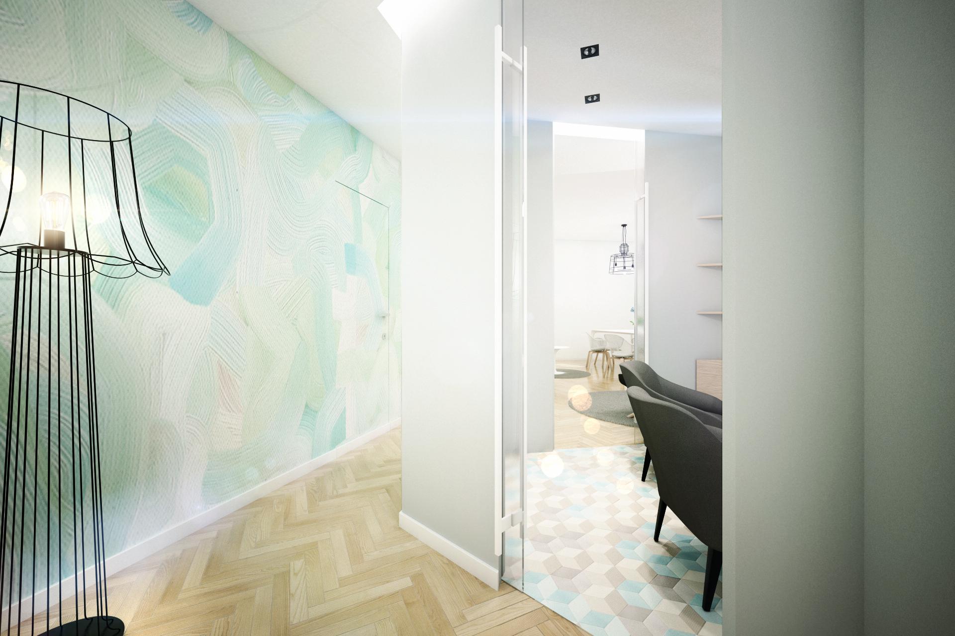 Современный дизайн квартиры в пастельных тонах