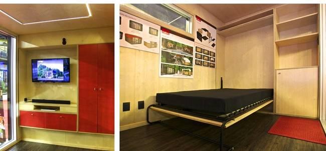 Дизайн интерьера маленького дома от Studio Cabo