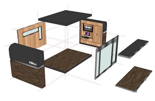 Проект маленького дома от Studio Cabo