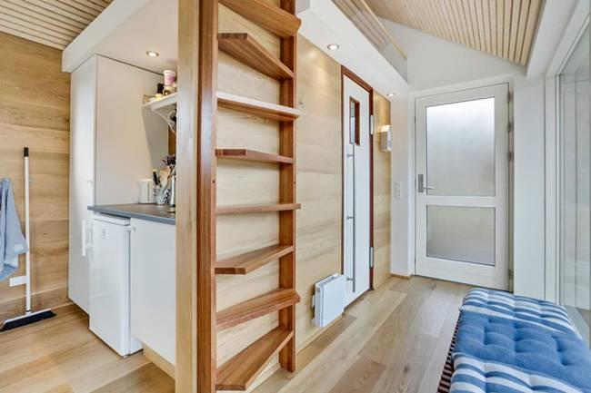 Дизайн маленького частного дома с нестандартной планировкой