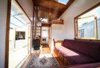Дизайн маленького частного дома с солнечной панелью