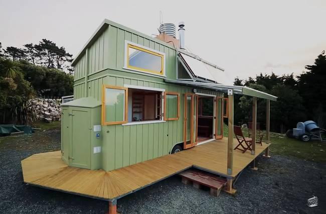 Дизайн маленького частного дома. Экстерьер