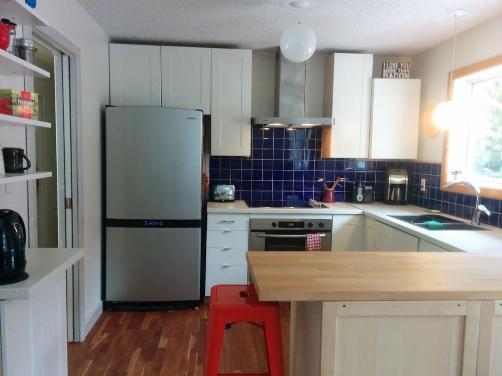Барная стойка в дизайне маленькой кухни