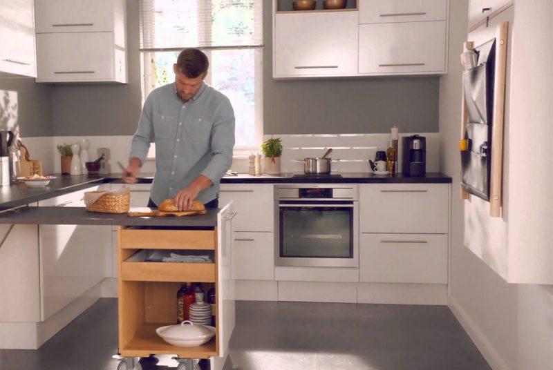Дизайн маленькой кухни от Magnet