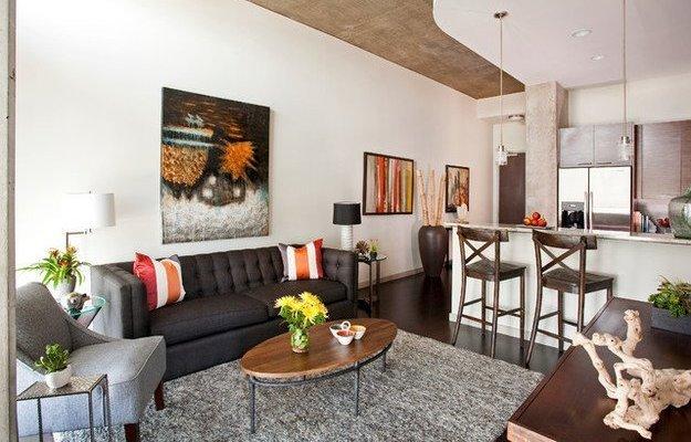 Идеи оформления маленькой квартиры