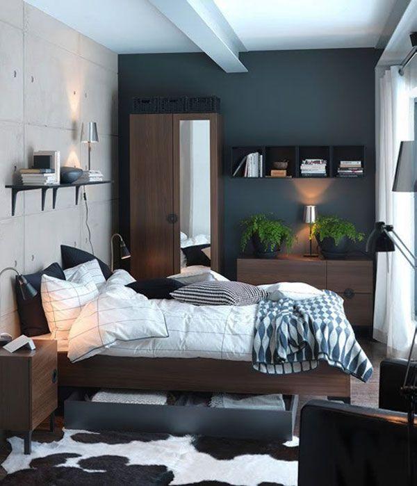 Компактная кровать с выдвижным ящиком