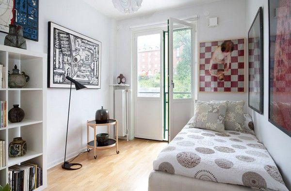 Маленькая спальня для одного