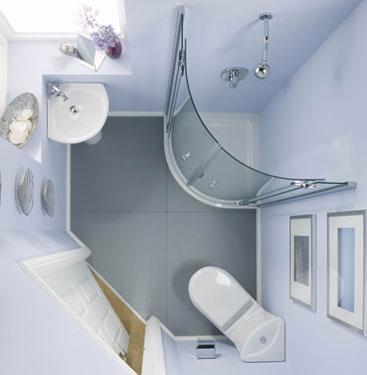 Дизайн интерьера в компактной ванной