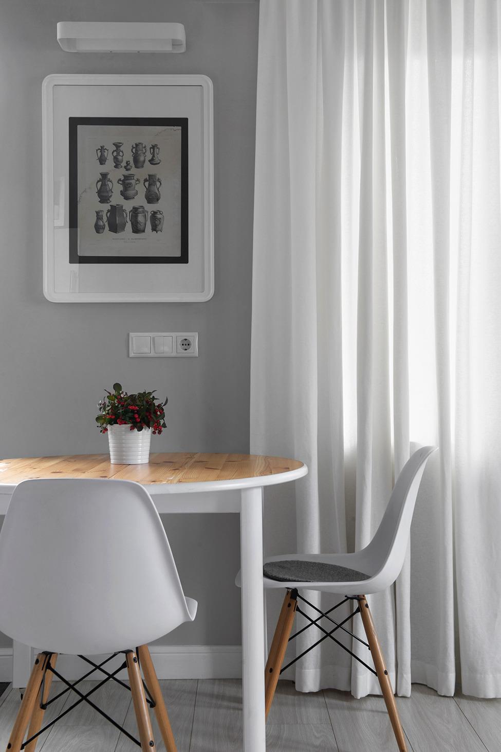 Декоративные элементы в оформлении столовой