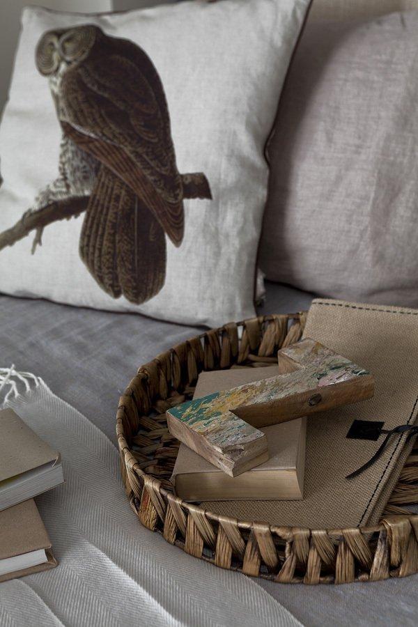Текстильные аксессуары в спальне