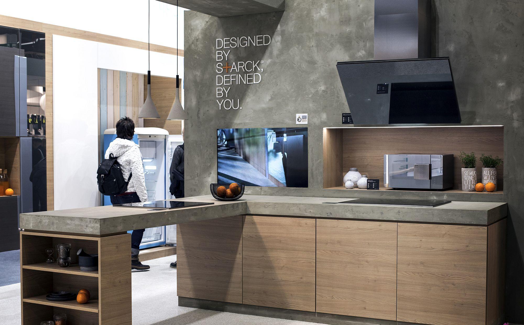 Дизайн мебели для маленькой кухни в стиле лофт - фото 2