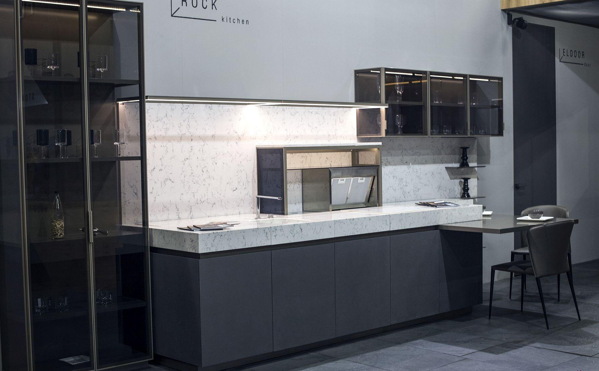 Современный дизайн мебели для маленькой кухни