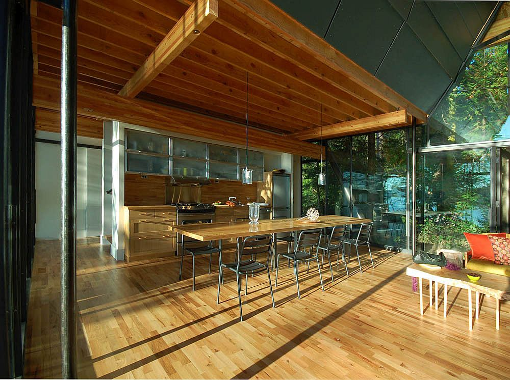 Современный дизайн интерьера и мебели для маленькой кухни - фото 3
