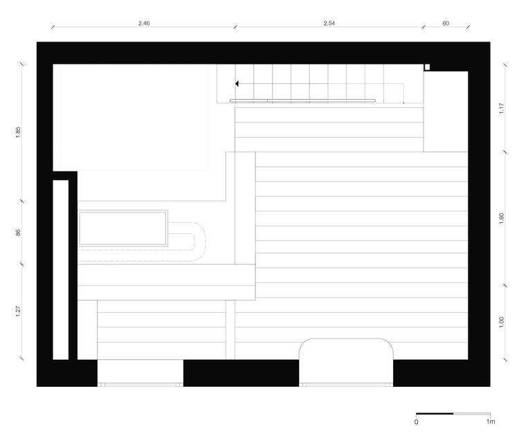 Планировка второго уровня маленькой квартиры