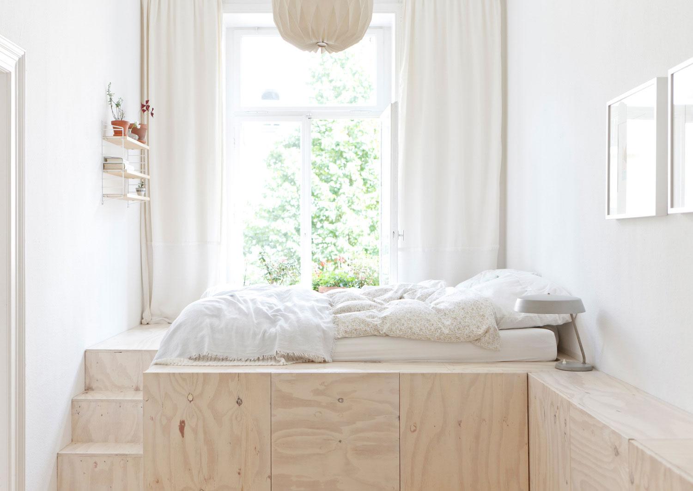 Спальное место у окна