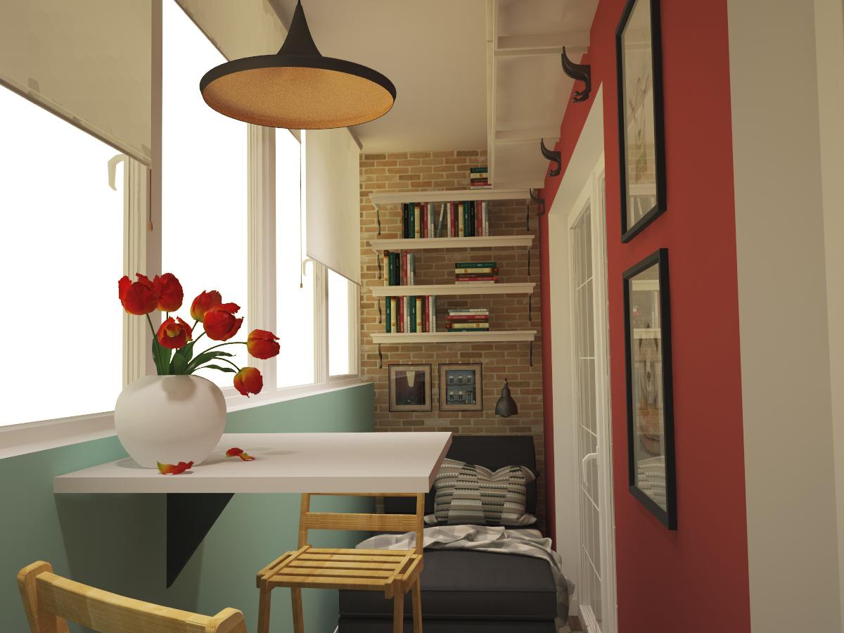 Дизайн небольшой квартиры для холостяка