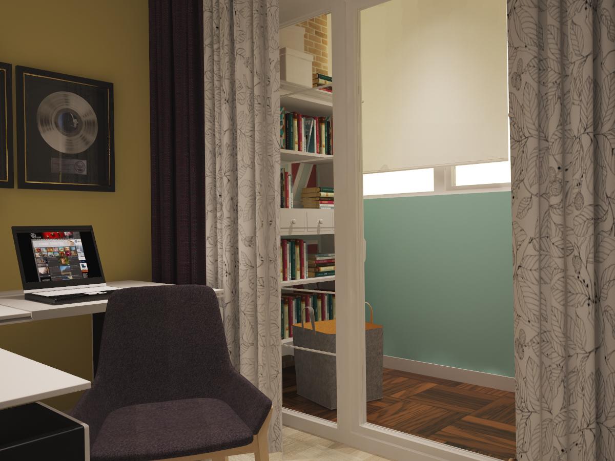 Дизайн небольшой квартиры в скандинавском стиле