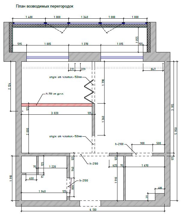Планировка небольшой квартиры для холостяка