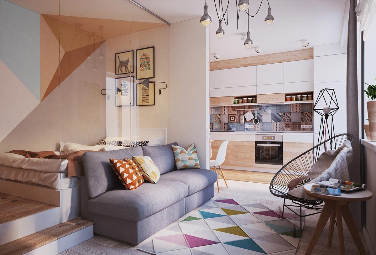 Дизайн небольшой современной квартиры во Львове