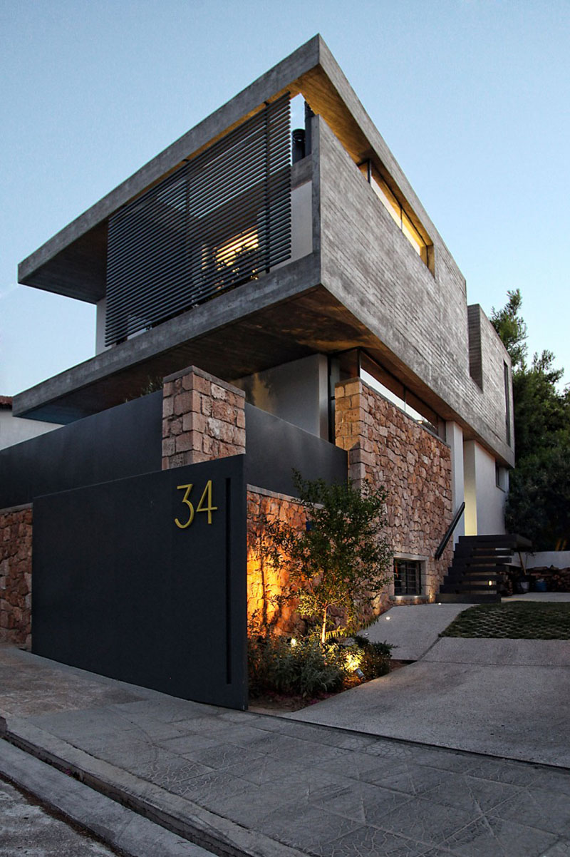 Дизайн современного частного дома