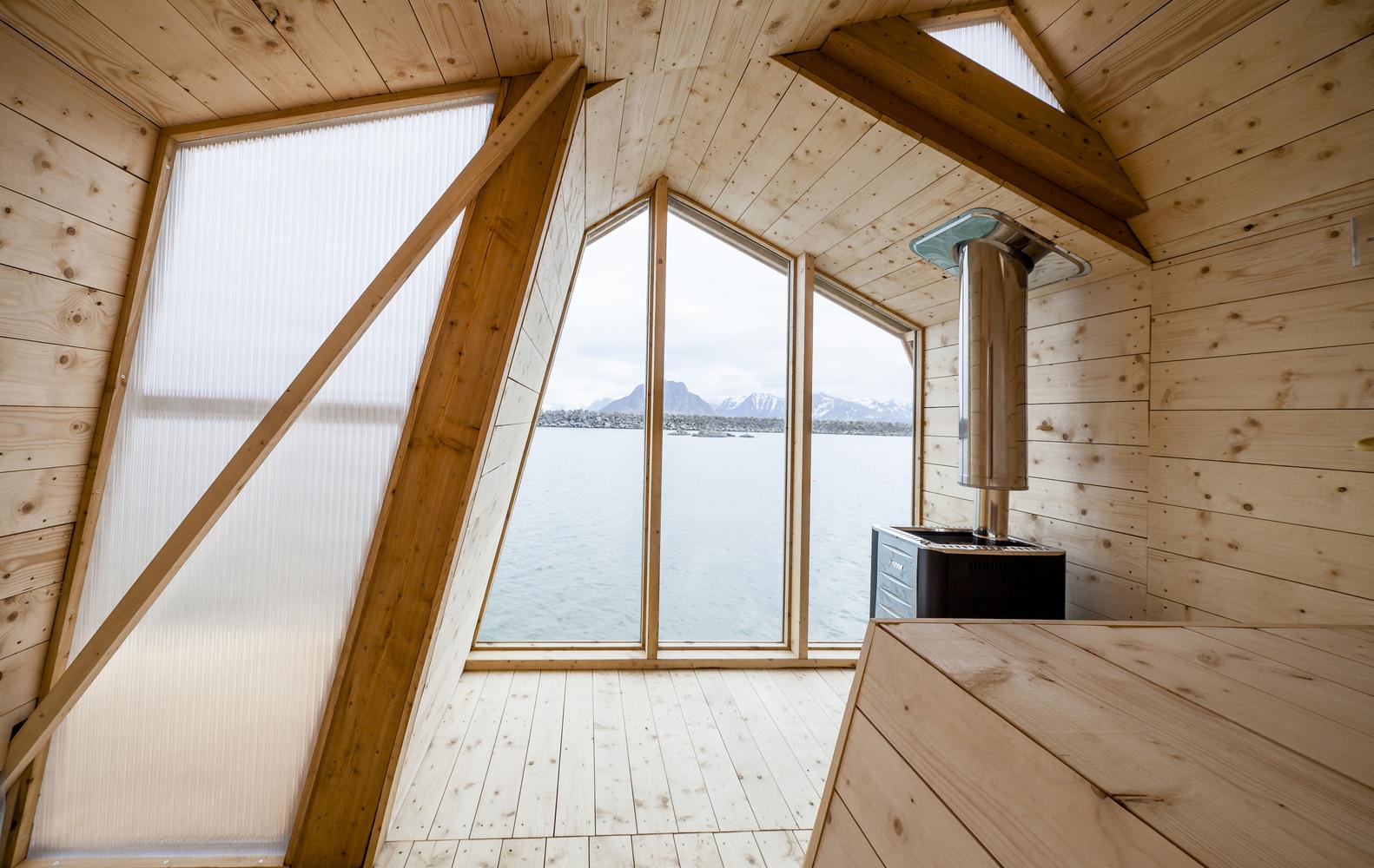 Дизайн рыбацкого домика в Норвегии