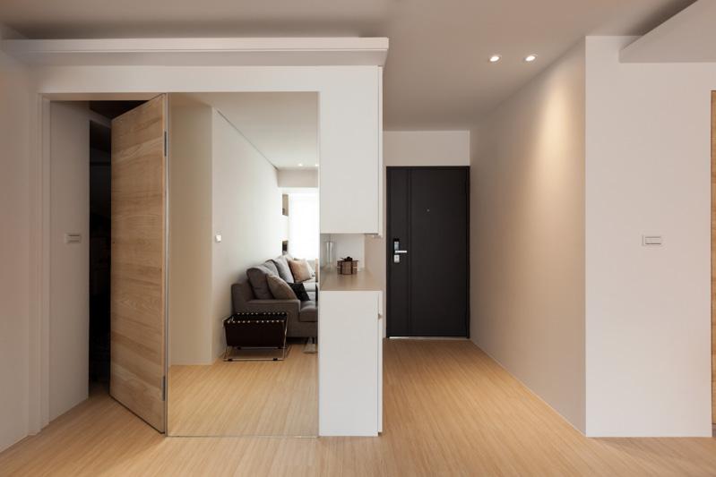 Спрятанная дверь в трёхкомнатной квартире