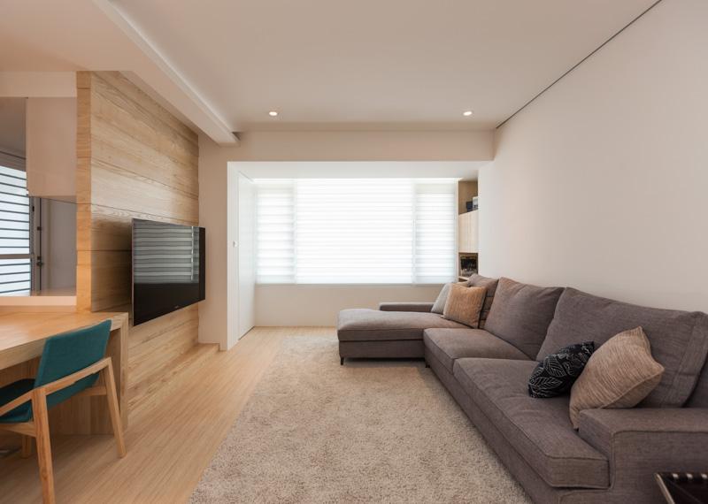 Дизайн трёхкомнатной квартиры в светлых тонах