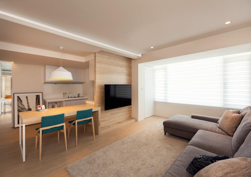 Дизайн трёхкомнатной квартиры в Тайване