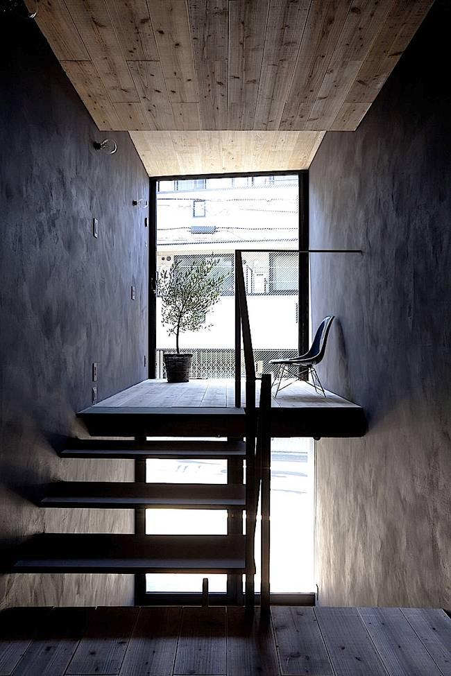 Дизайн узкого дома. Естественное освещение узкого дома