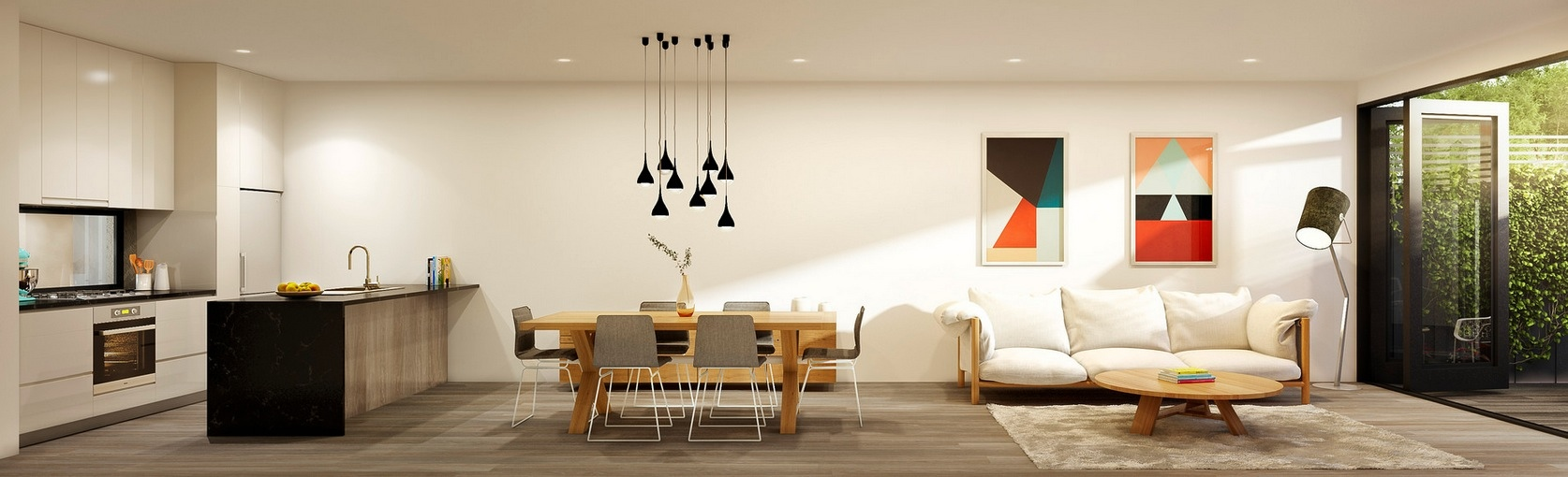 Интерьер дизайнерской квартиры-студии от Lushviz