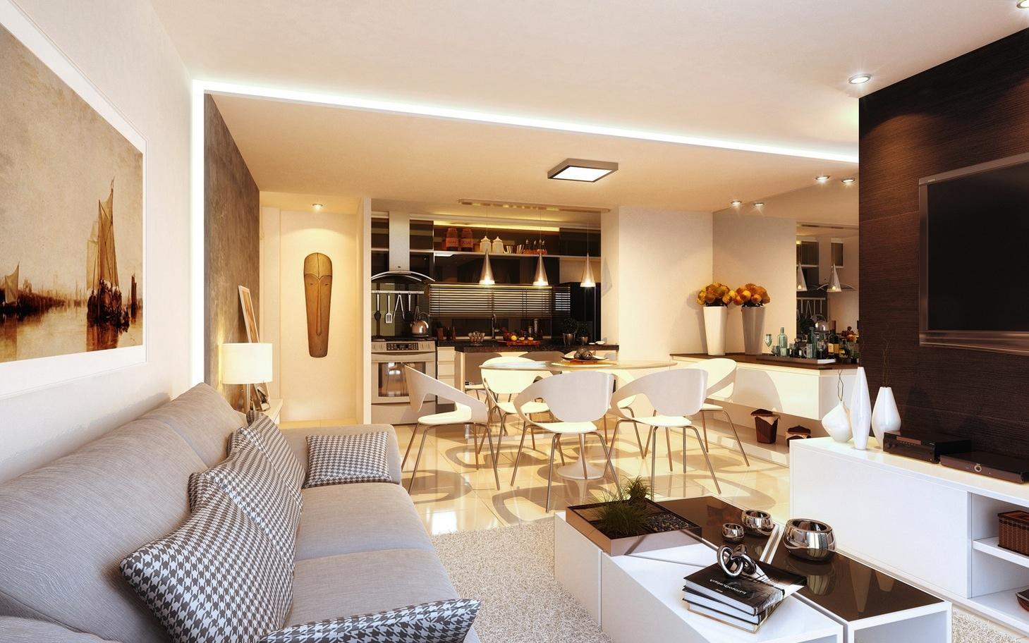Интерьер дизайнерской квартиры-студии от Ax Studio