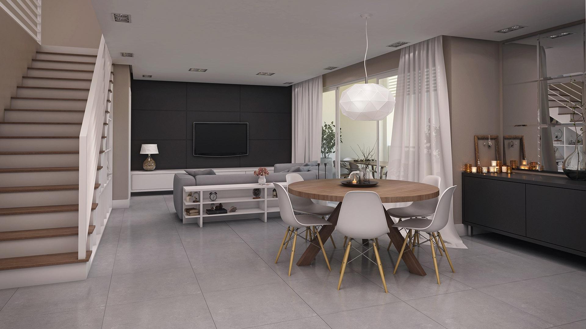Интерьер дизайнерской квартиры-студии от Felipe Broering