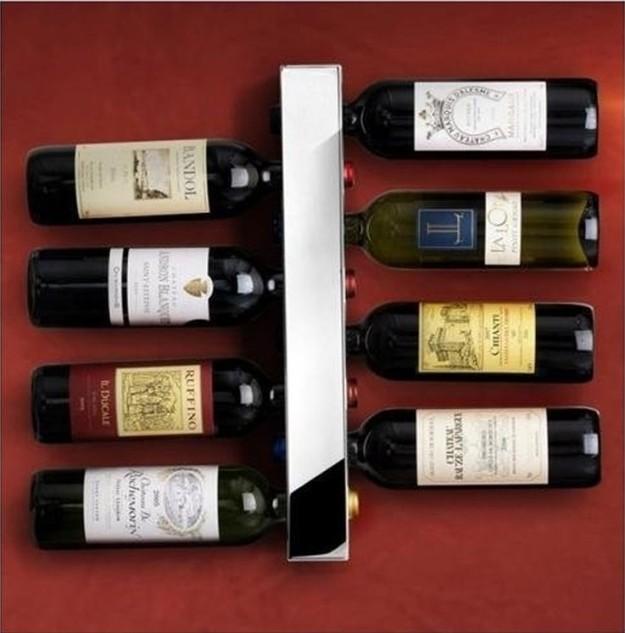 Вертикальный держатель для вина
