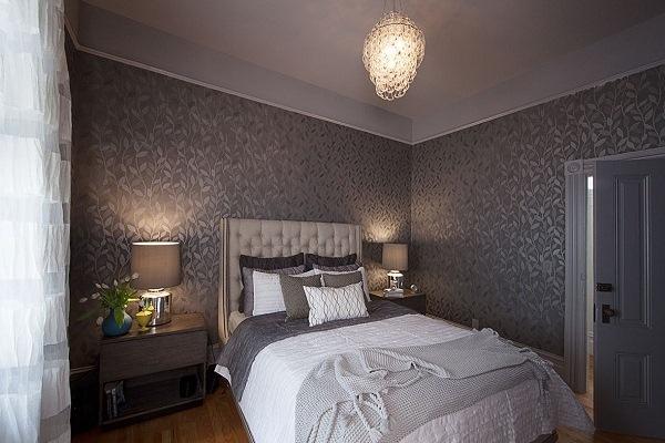 Маленький интерьер спальни
