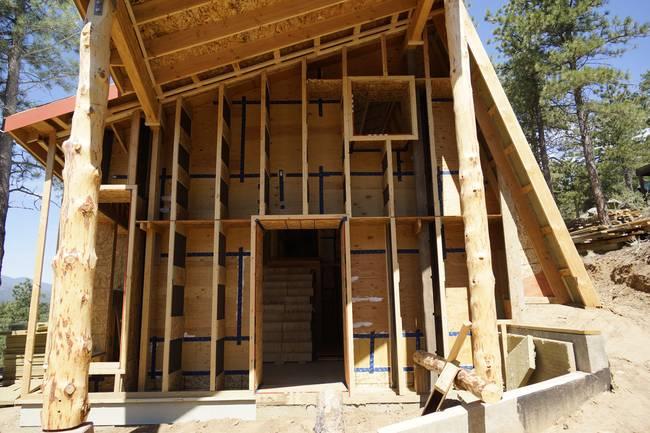 Дом для холодного климата в Колорадо. Строительство
