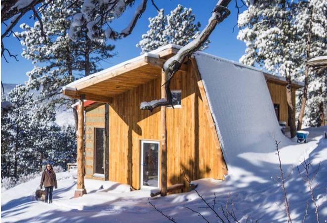 Дом для холодного климата в Колорадо