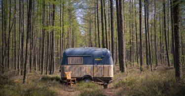 Проект дома фургона на колёсах