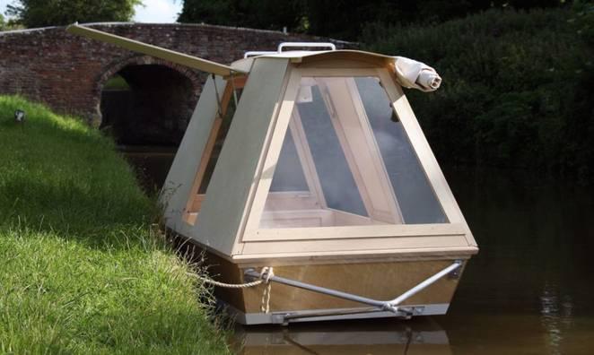 Дом-лодка от Daniel Durnin