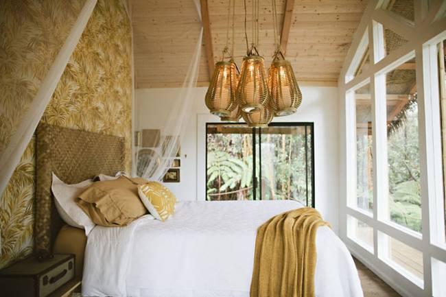 Интерьер маленького дома для отдыха