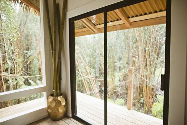 Красивый интерьер маленького дома для отдыха