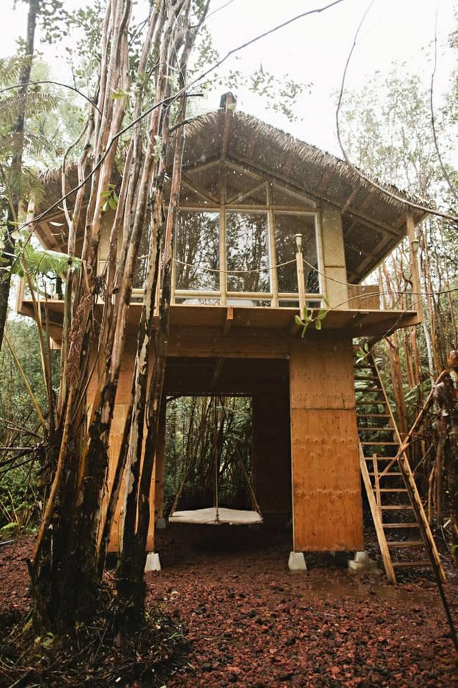 Дом маленький для отдыха на Гавайях