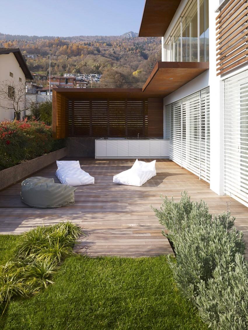Внешний вид особняка MP от Burnazzi Feltrin Architetti